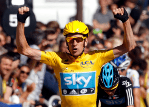 Bradley Wiggins Wins Tour de France 2012