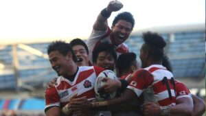 Japan vs. South Africa 2015