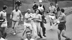 Kathrine Switzer Boston Marathon 1967