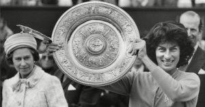 Virginia Wade Wins Wimbledon 1977