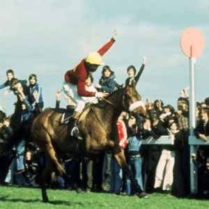 Red Rum Wins Third Grand National 1977