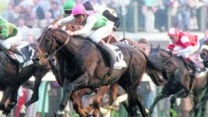 Dancing Brave Defeated in Derby 1986