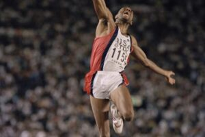 Mike Powell Breaks Long Jump World Record 1991
